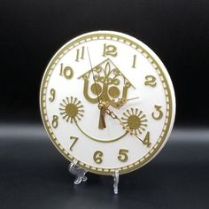 "It's a Small World Inspired Wall Clock Disney 9.5"" diameter"