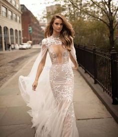 Long sleeves off the shoulder wedding dresses 2018 berta bridal ...
