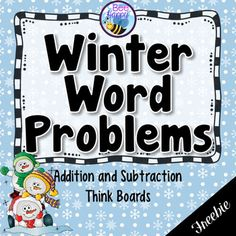 This resource is an introduction to using Think Boards to solve addition and subtraction word problems within 20. The first six Think Boards feature Result Unknown word problems and the second six feature Change Unknown word problems. This math word problem resource features 12 Think Boards 2 to a page.