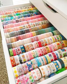 Any washi lovers out there? Stationary Organization, Stationary Supplies, Cute Stationary, Desk Organization, Bullet Journal Aesthetic, Bullet Journal Writing, Bullet Journal Ideas Pages, Study Room Decor, Cute Room Decor