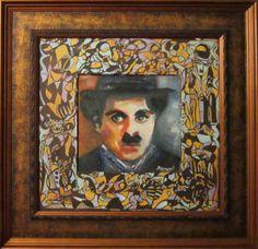 Chaplin-Òleo FERNANDINI-(53x54cm)-PRECIO:500 dólares | Venta de Pinturas al óleo y acuarela de Patty Fernandini