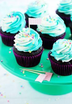 Como fazer cobertura bicolor para cupcakes