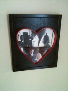 DIY Picture Frames DIY Heart Shaped Picture Frame from scrap metal DIY Picture Frames