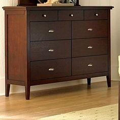 shaker style dresser | Mission Shaker Distressed Cherry Dresser