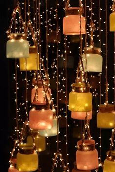 DIY Hanging decor ideas for an Attractive Wedding! DIY Hanging decor ideas for an Attractive Wedding! Diwali Decoration Lights, Diwali Decorations At Home, Diwali Lights, Light Decorations, Wedding Decorations, Diwali Lamps, Diwali Candles, Diwali Lantern, Diwali Party