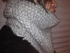 Free Knitting Pattern - Cowls and Neck Warmers: Gray Moss Cowl