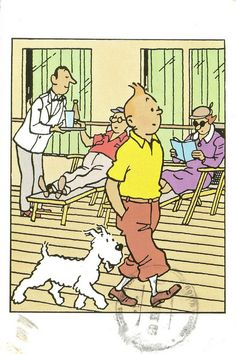 'The Adventures of Tintin: Cigars of the Pharaoh' by Hergé