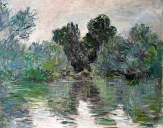 1878, Claude Monet / An arm of the Seine
