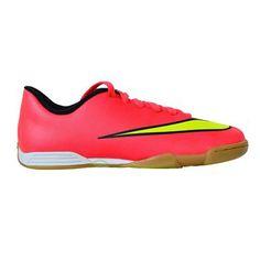 Sepatu Futsal Nike JR Mercurial Vortex II IC 651643-690 sepatu futsal yang berbahan synthetic leather upper yang didesain stylish dengan polyurethane midsole, dan solid rubber outsole untuk memberikan kenyamanan. Diskon 15% dari harga Rp 599.000 menjadi Rp 499.000.
