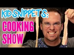 """Kid Snippets: """"Cooking Show"""" (Imagined by Kids) - when adults use voice clips from their kids' play sessions and act it out. This is the funniest thing I've ever seen!!"""