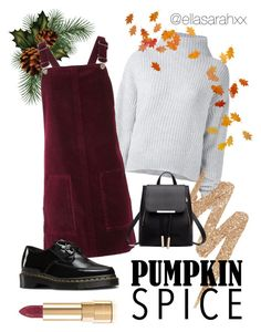 autumn adventures by ellasarahxx on Polyvore featuring polyvore, fashion, style, Topshop, Le Kasha, Dr. Martens, Urban Decay, Dolce&Gabbana and clothing