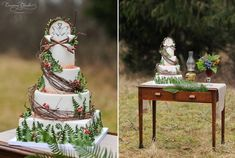 The Hunger Games | 19 Spectacularly Nerdy Wedding Cakes