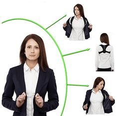 The Best Posture Corrector For Men and Women! The Top Posture A Back Brace For Posture and Mind. Our Zeowo Back Posture Corrector heals your back problems and your depression. Our Zeowo Posture Corrector is made of custom cushioning. Shoulder Posture Brace, Back Brace For Posture, Shoulder Brace, Posture Strap, Bad Posture, Sore Neck And Shoulders, Posture Corrector For Men, Sport Treiben, Posture Support