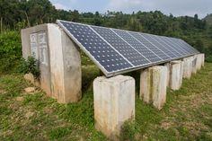 iDE work in Nepal to help rural communities break free from the poverty cycle. solar panels!