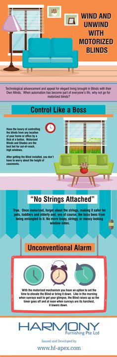 With the incorporation of automation in everyone's life, choosing motorized blinds can be a smart decision. To know more, view this Infographic.