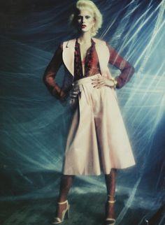 A Singular Blond Beauty (Vogue Italia)