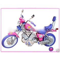 GIRLS PINK ELECTRIC RIDE ON HARLEY Motorcycle Power Wheels Car Harley  Davidson Toys 76c17e3e7