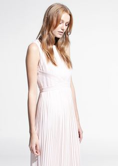 SPECIAL COUNTRIES - Long pleated dress