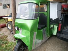 CUSHMAN TRUCKSTER NICELY RESTORED -NEW CHARGER CUSTOM BED 36 VOLTS  #unkown