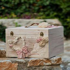 Κουτί Βάπτισης Καρδούλα Cat In The Hat Lucida Cube