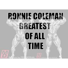 Is Ronnie the greatest of all time? What are you're thoughts? #ronnie #ronniecoleman #yeahbuddy #strong #greatest #bodybuilder #bodybuilding #powerlifting #signatureseries #yeahbuddy #lightweight #peanut #great #goat #muscle #gains #ifbb #arnold #arnie #kaigreen #philheath #dynamik #best #gym #fitness #muscle