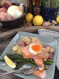 Rick Moonen makes Grill Smoked True North Salmon! #fish #seafood #salmon #grill #smoke #homeandfamily #homeandfamilytv