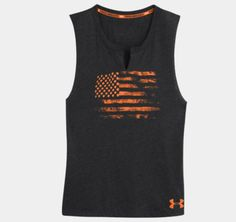 Under Armour: Women's Tough Mudder Charged Cotton® Legacy Sleeveless T-Shirt
