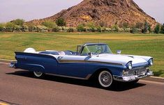 1957 Ford Fairlane 500 Convertible 312/270 HP, 3-Speed | Lot S47 ...