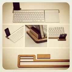 Laser cut desk tidy (via @andymurraydesign)
