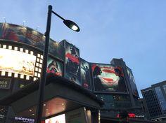 Batman v Superman Superman, Batman, Times Square, Broadway Shows, Photography, Photograph, Fotografie, Photoshoot, Fotografia