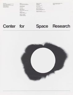 Jacqueline Casey – Center for Space Research Symposium, Massachusetts Institute of Technology, 1968