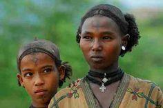 Oromo Girls along the Tekeze River Ethiopia.  bart henderson image