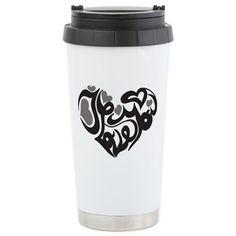 I Heart You Travel Mug on CafePress.com