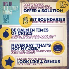 Tips to Effectively Manage Your Boss