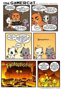 the GaMERCaT :: Imaginate   Tapastic Comics - image 1
