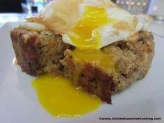 Paleo Meatloaf.  SO DELICIOUS. #repin #paleo #primal #meatloaf #recipes