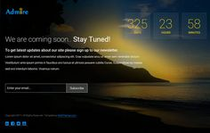 free coming soon bootstrap template