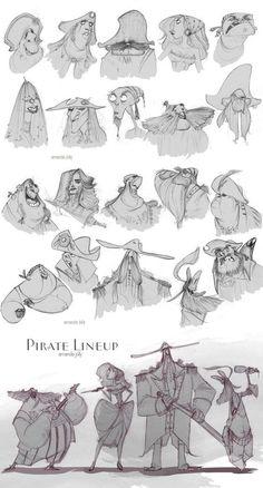 Amanda Jolly - Character Design Page Male Character, Character Drawing, Character Illustration, Character Concept, Concept Art, Character Design Animation, Character Design References, Cartoon Styles, Cartoon Art