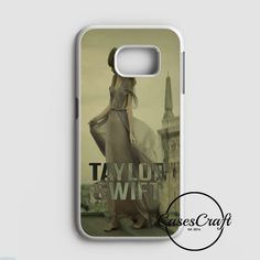 Taylor Swift With Lovely Guitar Samsung Galaxy S7 Edge Case | casescraft