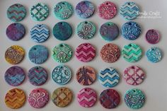 clay pendants painted damask diy necklaces sculpey oven bake hard white fimo flower flourishes (17).JPG