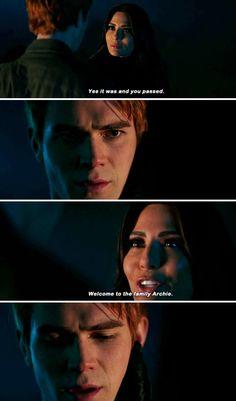#Riverdale #2x13 #Hermione #Archie