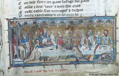 Literary, MS G.24 fol. 44r - Images from Medieval and Renaissance Manuscripts - The Morgan Library & Museum