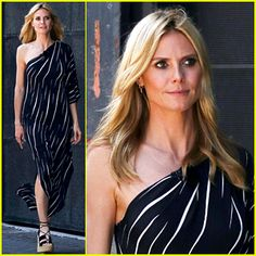 #Heidi Klum Gets Glammed Up to Film Germany's Next Top Model --- More News at : http://RepinCeleb.com  #celebnews #repinceleb #CelebNews
