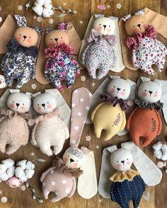 Best 12 New bunnies are live! Click the link in bio to visit my shop ❤️ Hope you like all of them ❤️ * SOLD. Thank – SkillOfKing. Stuffed Animal Patterns, Diy Stuffed Animals, Sewing Crafts, Sewing Projects, Tilda Toy, Sock Dolls, Fabric Toys, Doll Tutorial, Sewing Dolls