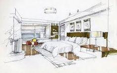 Resultado de imagen para architectural draft sketch example