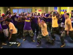 Comedians Rickey Smiley and Lil JJ Step With Omega Psi Phi On The Rickey...