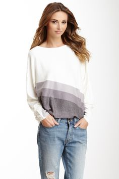 Go Couture Dolman Tunic Sweater//