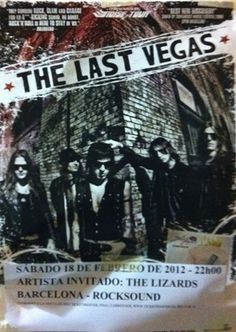 The Last Vegas. LOVE THIS BAND. <3