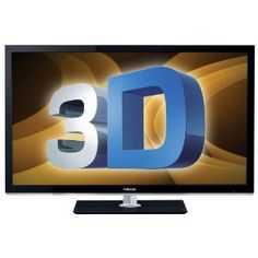 Cinema Series 3D LED TV, Black by Toshiba Get six pairs of 3D glasses free