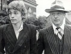 Colin Tennant with his son Charles